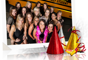 PARTY BUS CHARTER FOR Birthday, Bachelor & Bachelorette Parties or Girls Night Out